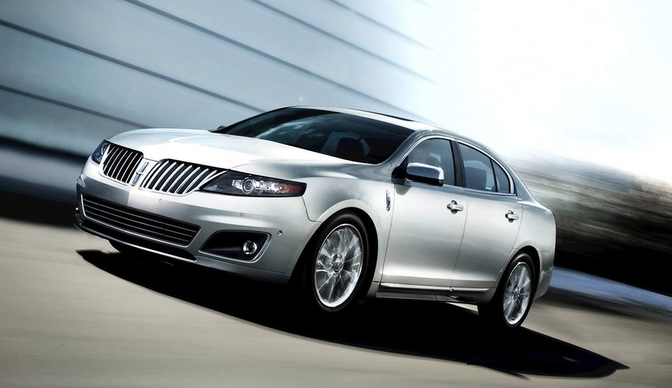 2011 Lincoln MKS Front Angle