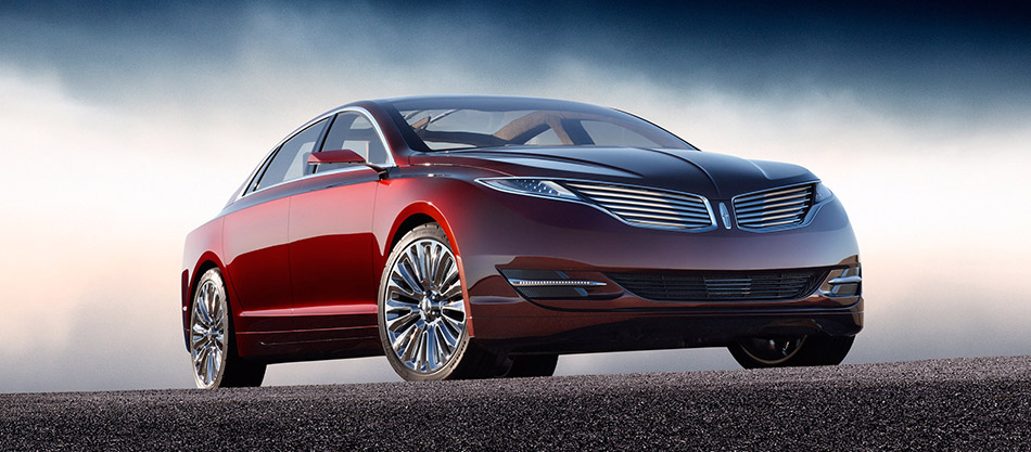 2012 Lincoln MKZ Concept Front Angle