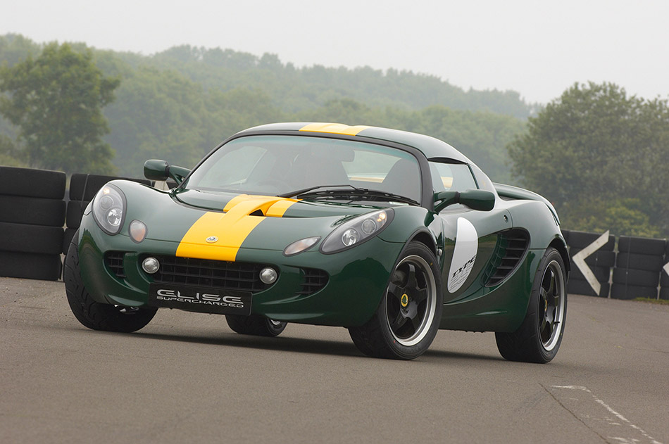 2008 Lotus Clark Type 25 Elise SC Limited Edition Front Angle