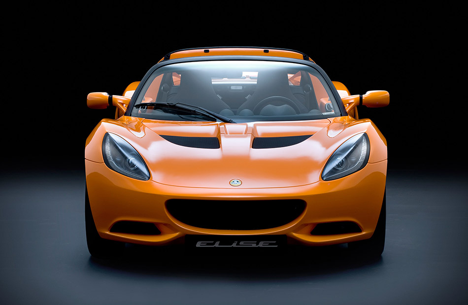 2011 Lotus Elise Front Angle