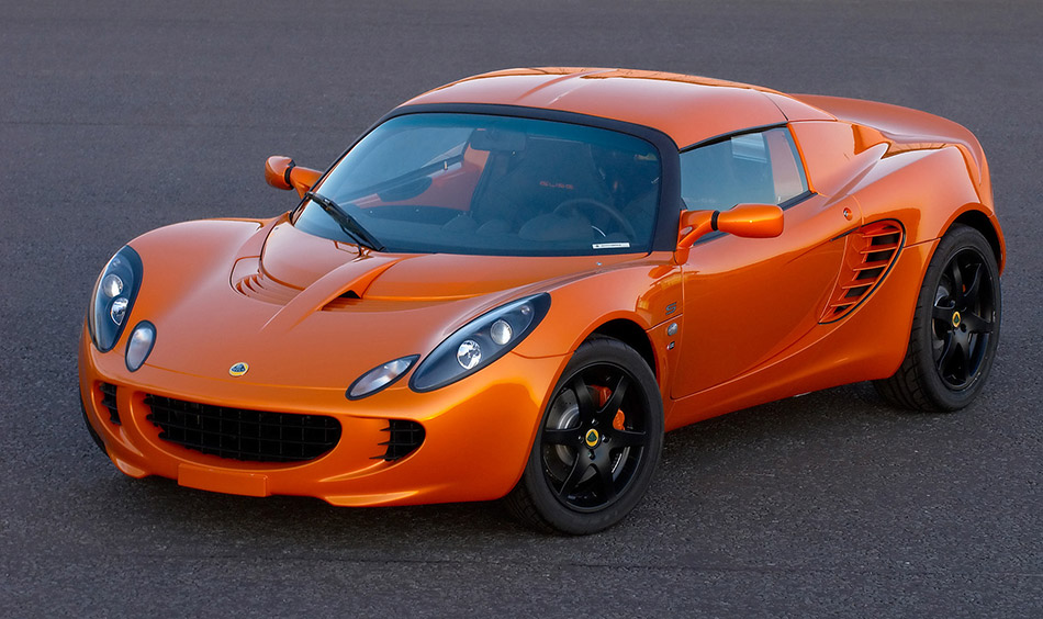 2008 Lotus Elise S 40th Anniversary Front Angle