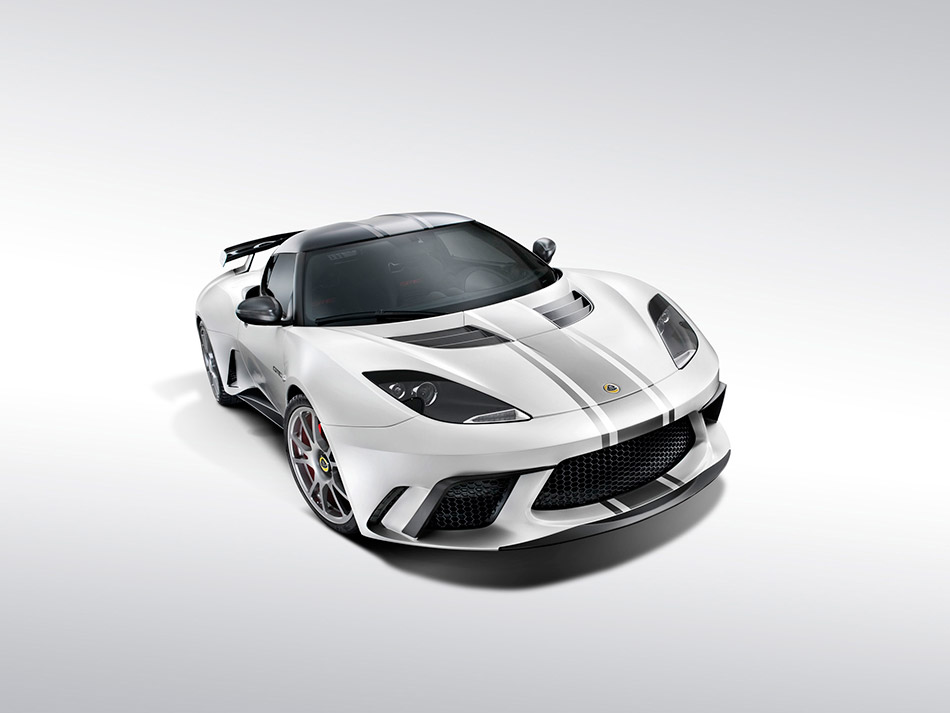 2012 Lotus Evora GTE Front Angle