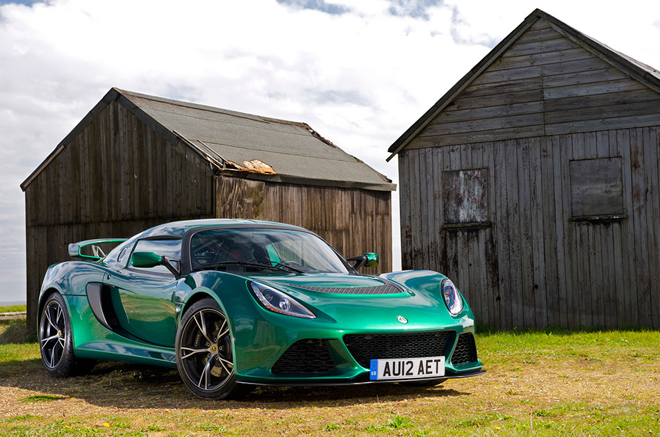 2012 Lotus Exige S Front Angle