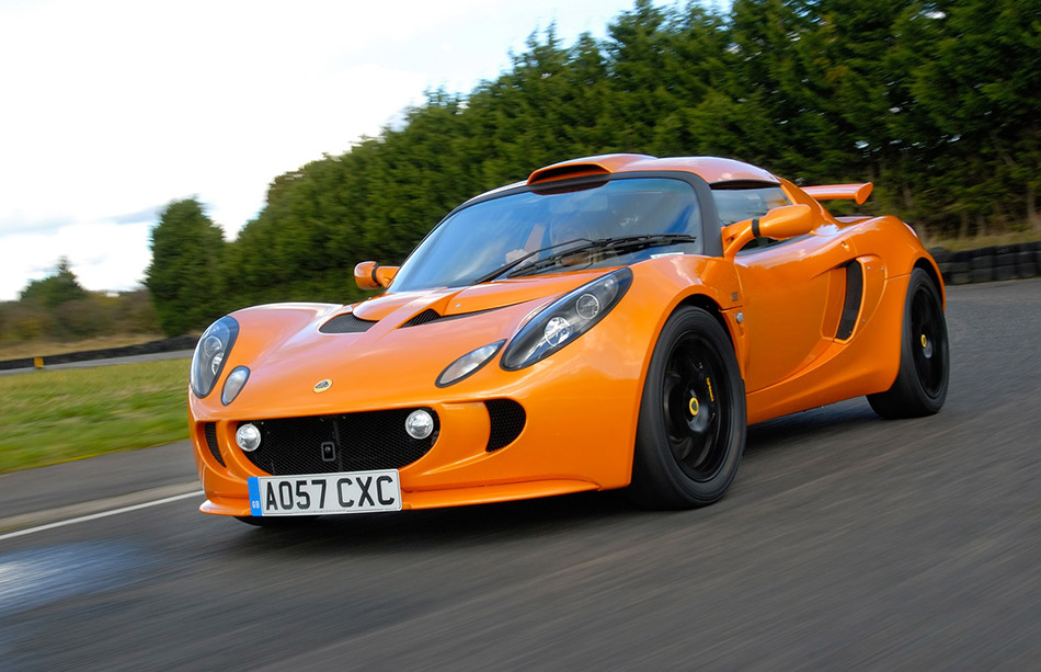 2008 Lotus Exige S Performance Package Front Angle