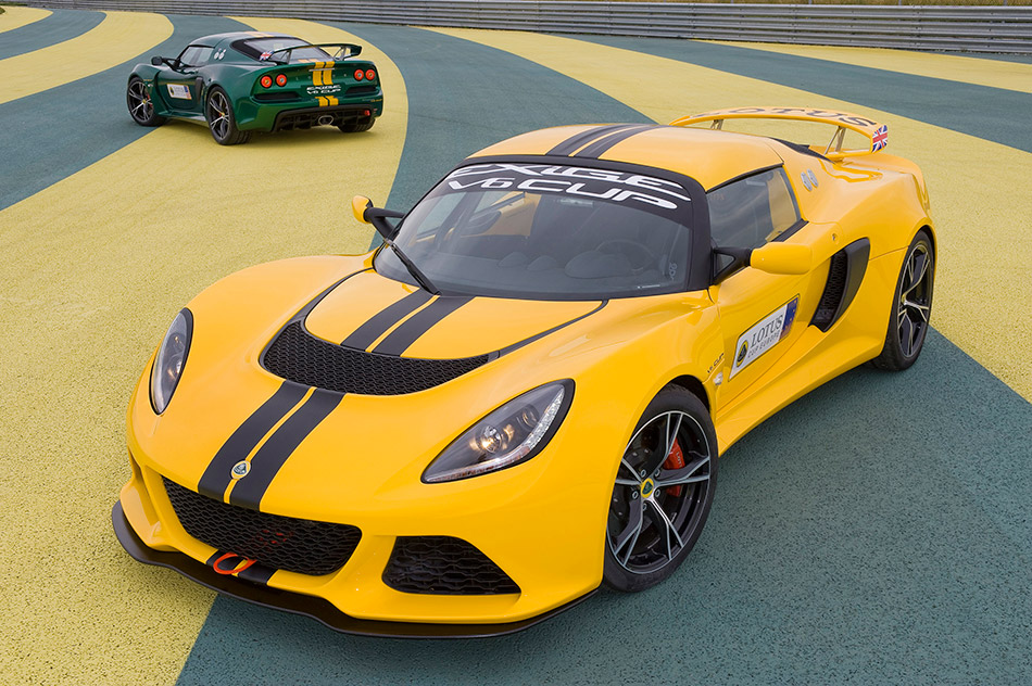 2013 Lotus Exige V6 Cup Front Angle