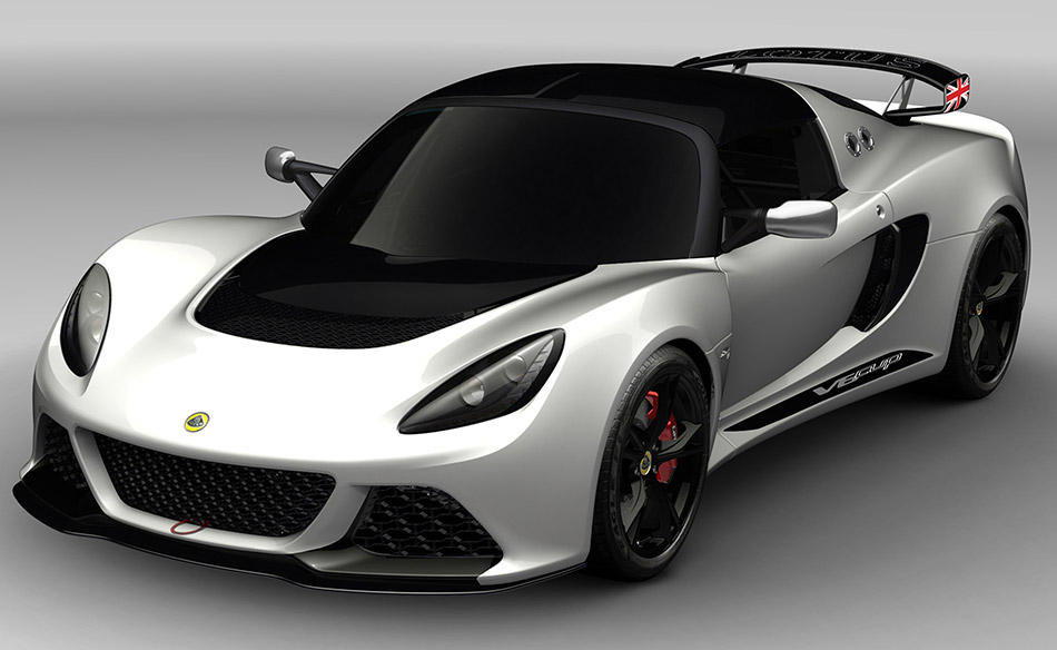2013 Lotus Exige V6 Cup R Front Angle