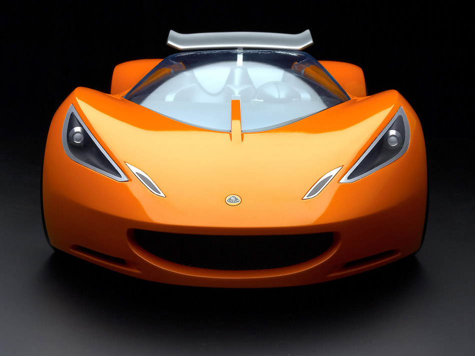 2007 Lotus Hot Wheels Concept Front Angle