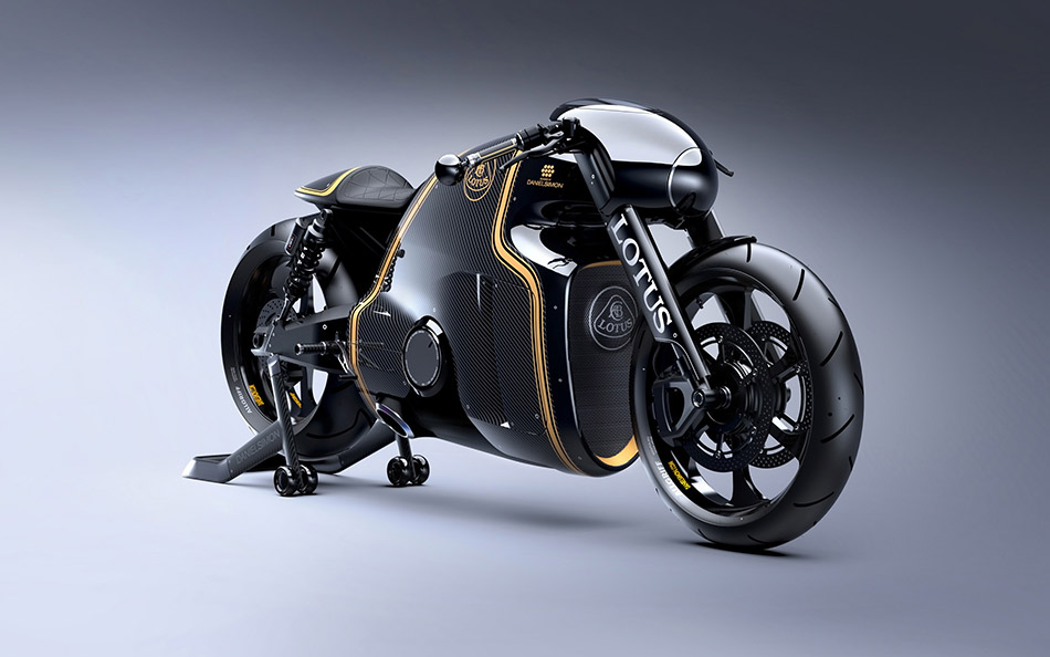 2014 Lotus Motorcycles C-01 Front Angle
