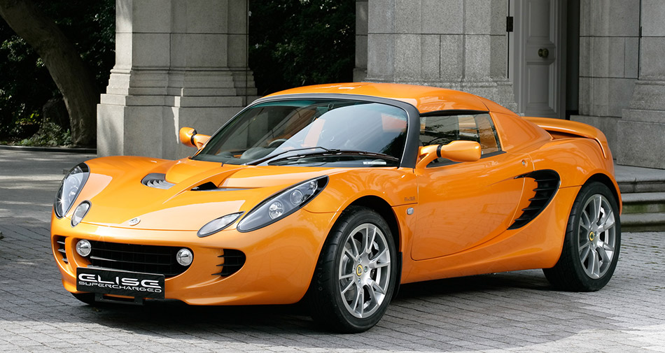 2008 Lotus Supercharged Elise SC Front Angle