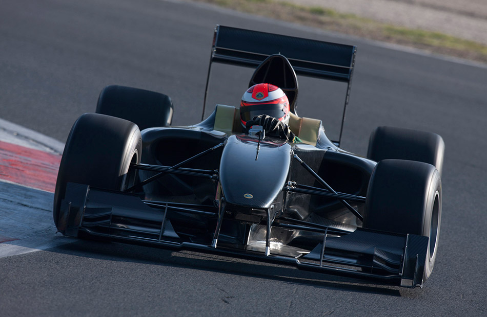 2011 Lotus Type 125 Front Angle