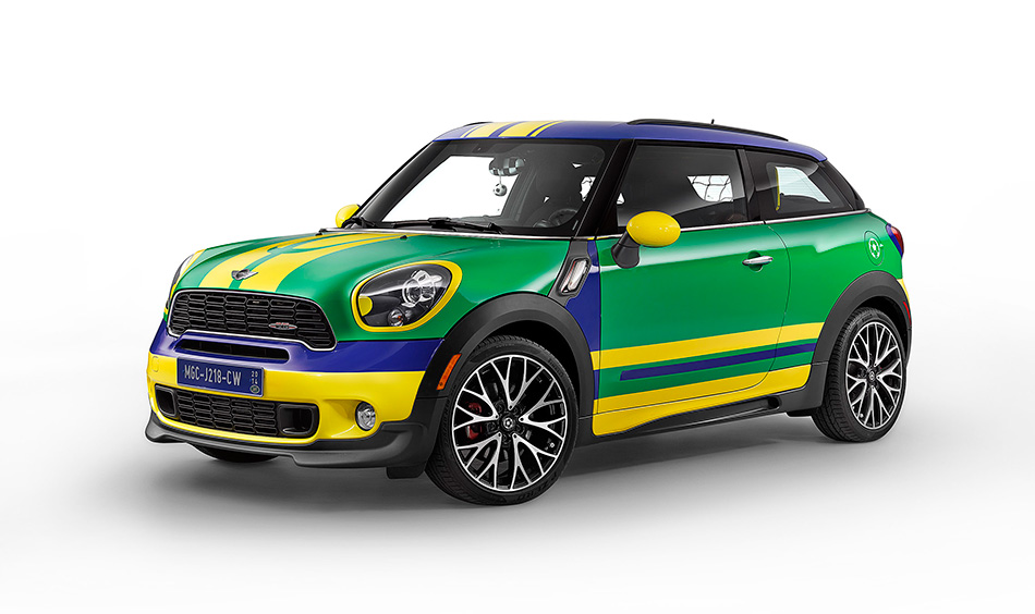 2014 MINI Paceman GoalCooper Front Angle