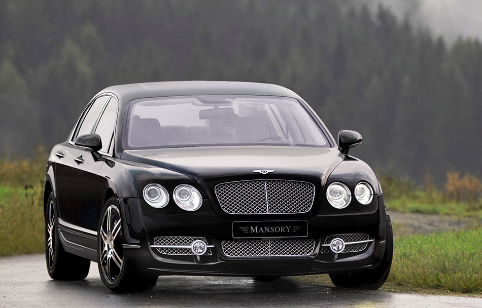 2006 Mansory Bentley Continental Flying Spur Front Angle