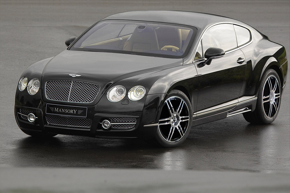 2005 Mansory Bentley Continental GT Front Angle