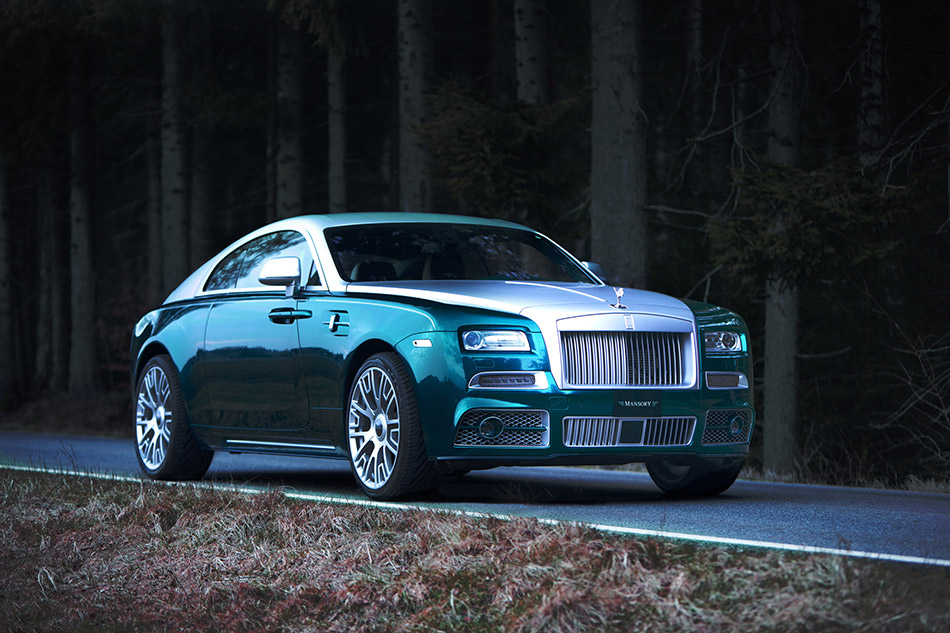 2014 Mansory Rolls-Royce Wraith Front Angle