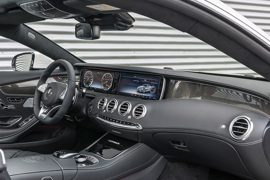 2015 Mercedes-Benz S63 AMG Coupe Interior