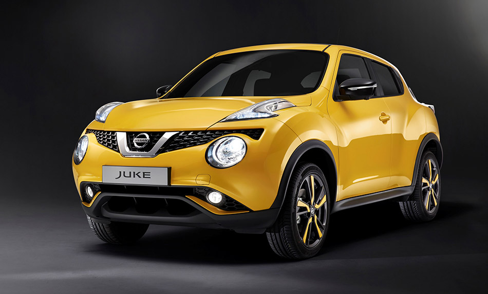 2015 Nissan Juke Front Angle