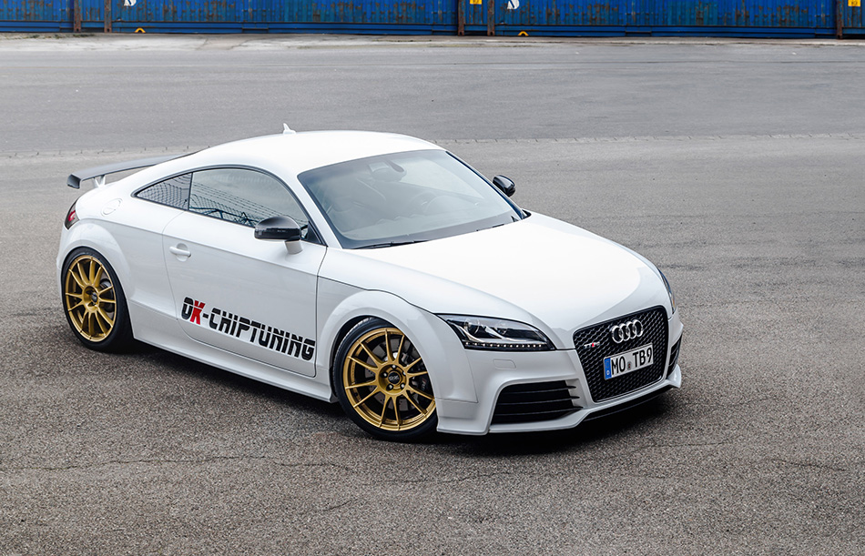 2014 OK-Chiptuning Audi TT RS Plus Front Angle