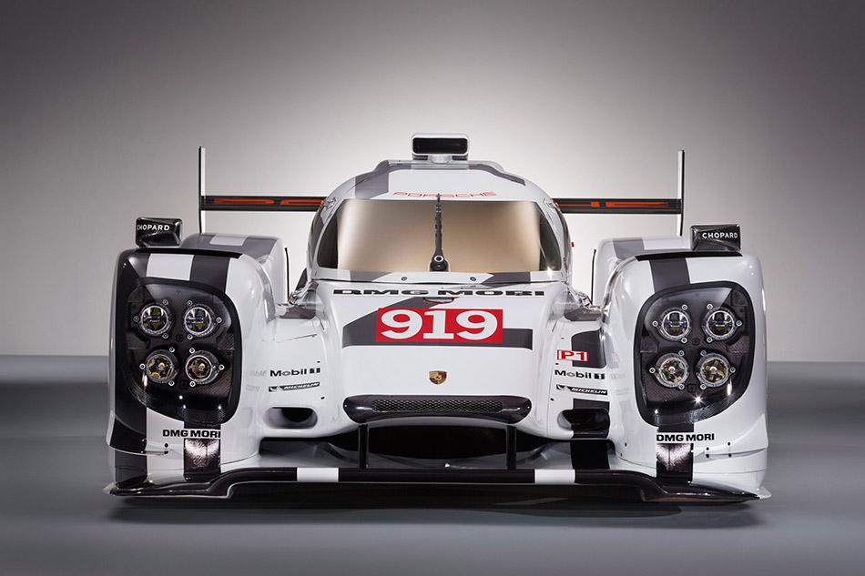 2014 Porsche 919 Hybrid Front Angle