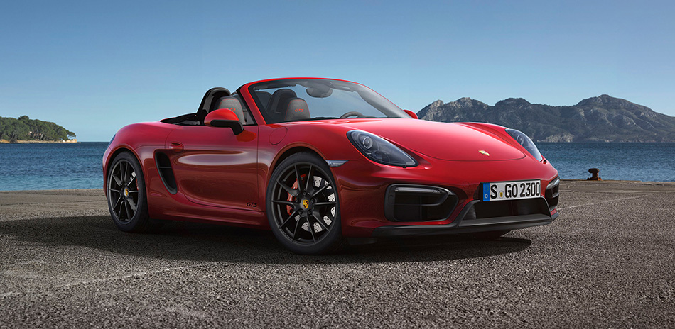 2015 Porsche Boxster GTS Front Angle
