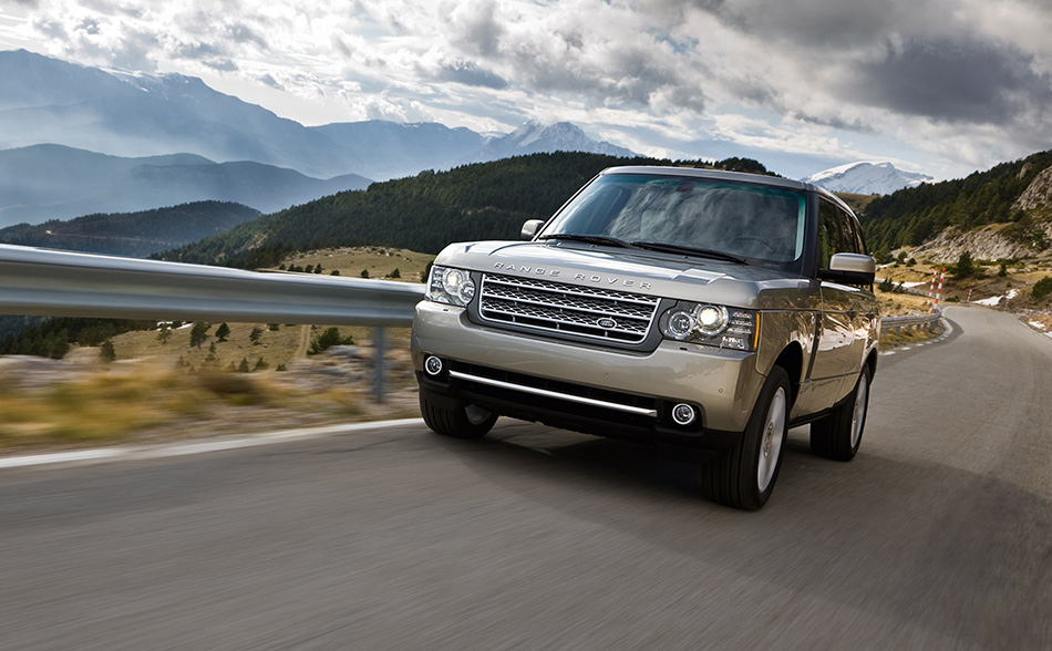 2010 Range Rover Front Angle