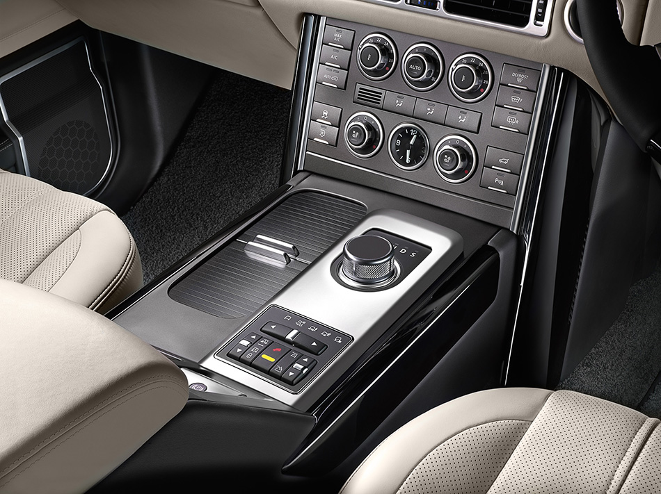 2011 Range Rover Interior