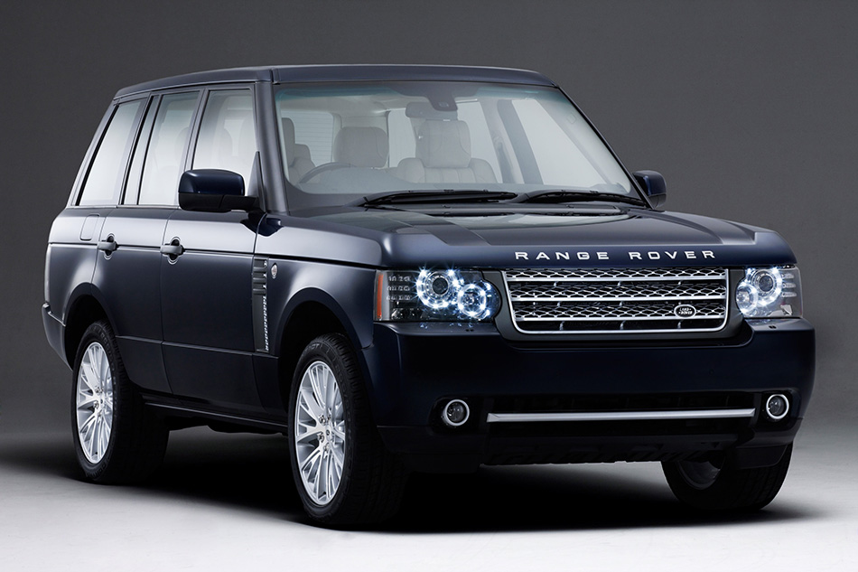 2011 Range Rover Front Angle