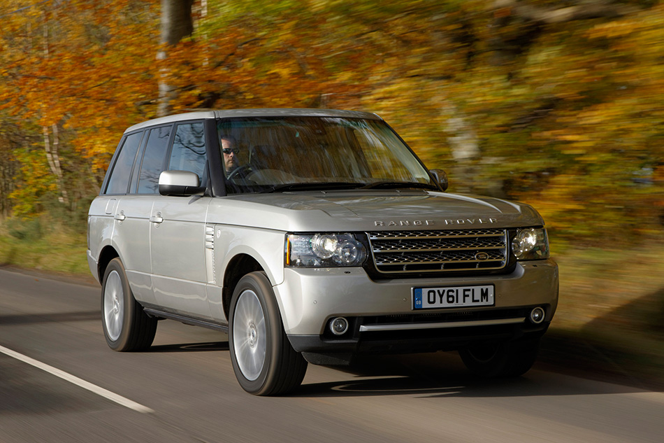 2012 Range Rover Front Angle