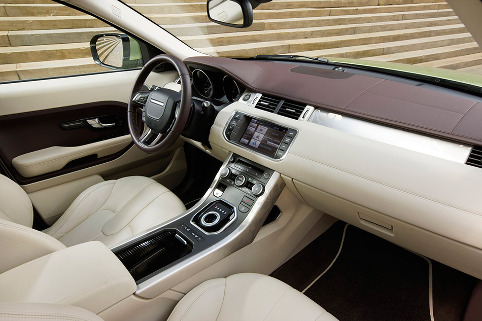 2011 Range Rover Evoque Interior