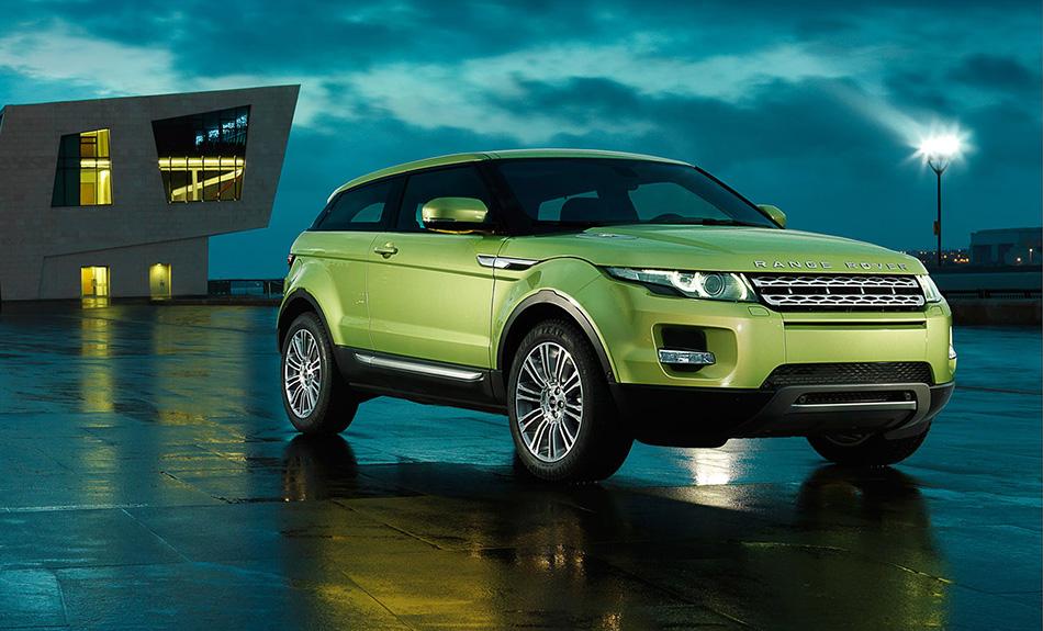 2011 Range Rover Evoque Front Angle