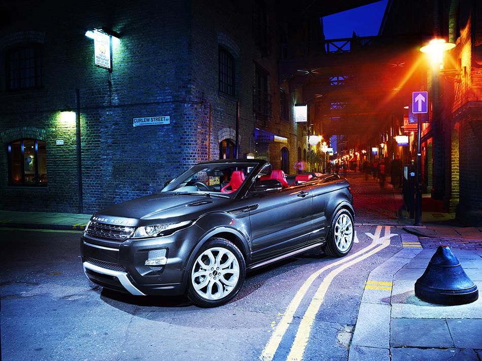 2012 Range Rover Evoque Convertible Concept Front Angle