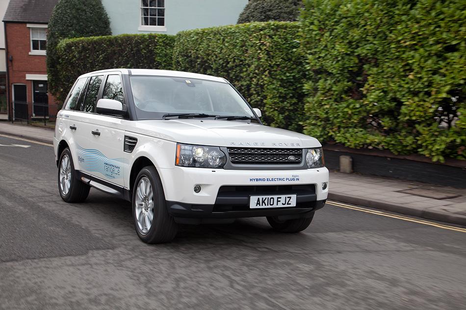2011 Range Rover Range eConcept Front Angle