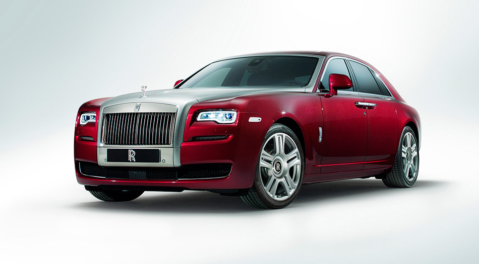 2015 Rolls-Royce Ghost Series II Front Angle
