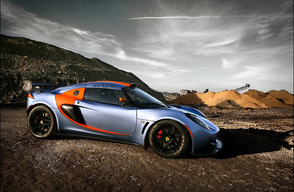 2009 Sector111 Lotus Exige Front Angle