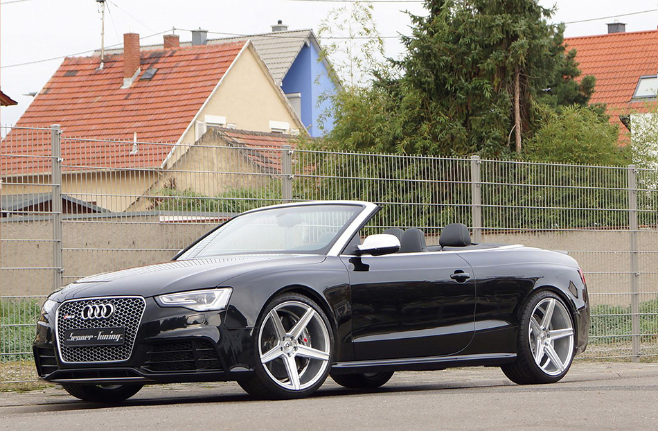 2014 Senner Tuning Audi RS5 Cabriolet Front Angle
