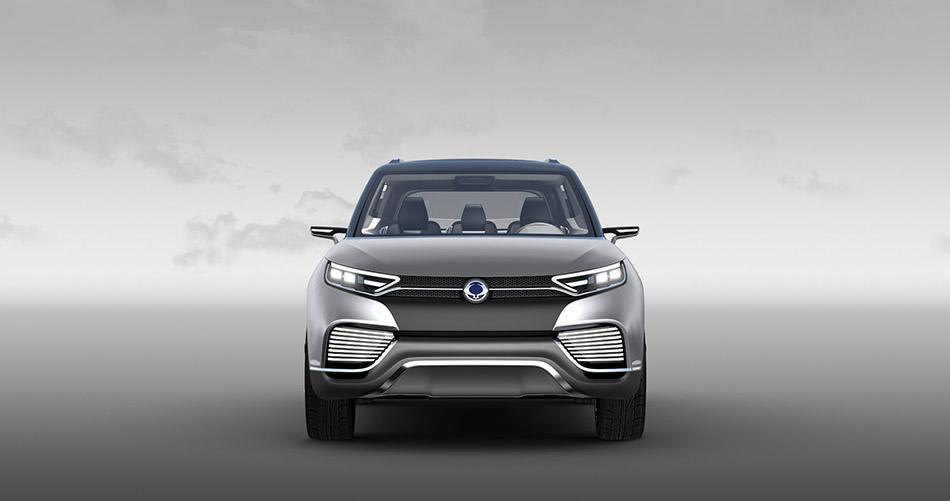 2014 SsangYong XLV SUV concept
