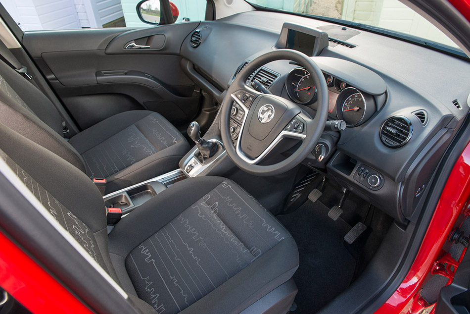 2014 Vauxhall Meriva Interior