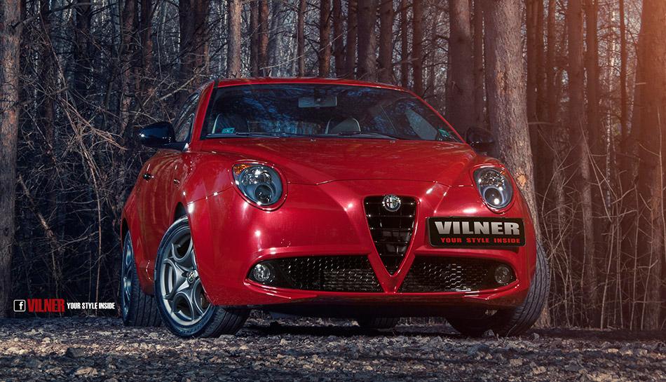 2014 Vilner Alfa Romeo Mito Front Angle