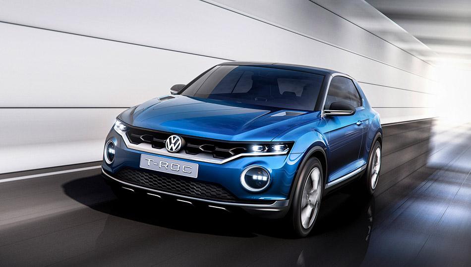 2015 Volkswagen T-ROC Front Angle