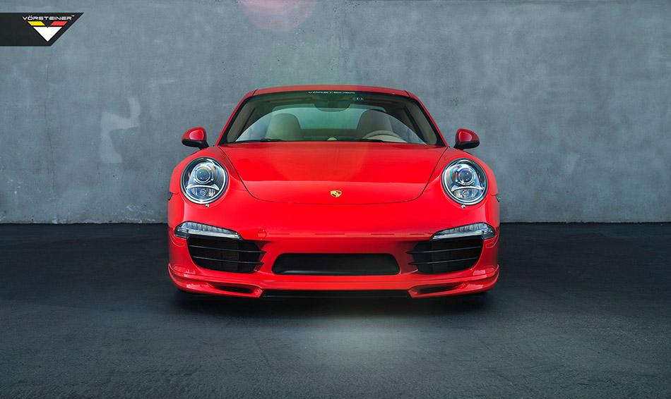 2014 Vorsteiner Porsche 911 Carrera S V-GT Edition Front Angle