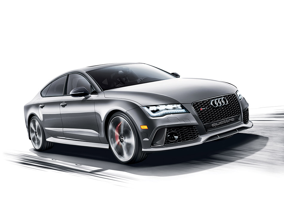 2014 Audi Exclusive RS7 Dynamic Edition Front Angle