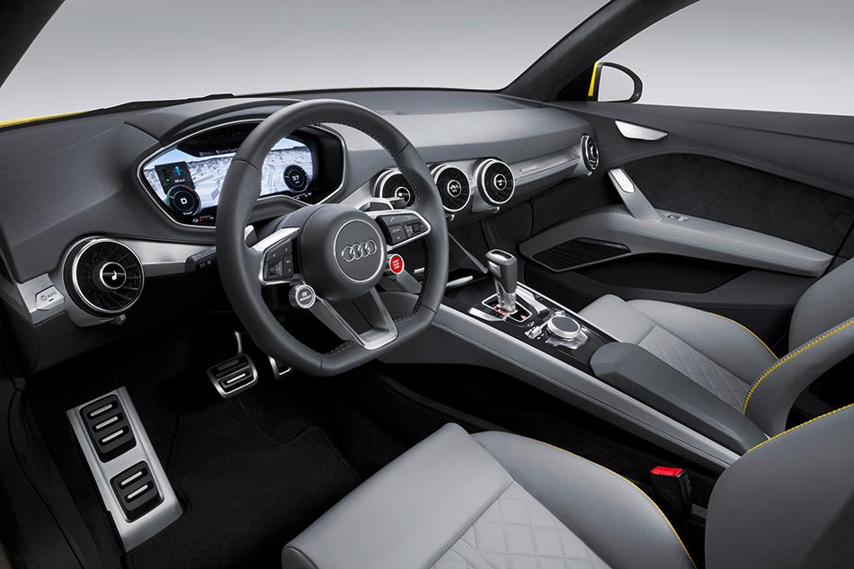 2014 Audi TT Offroad Concept Interior