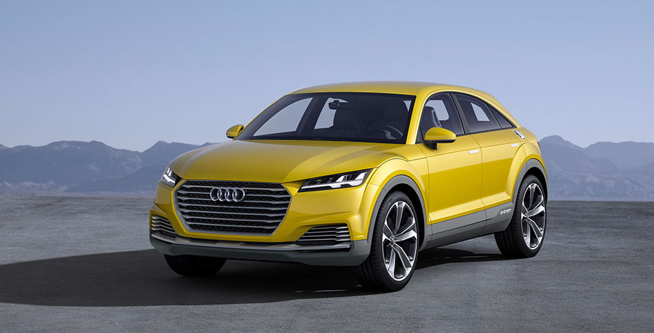 2014 Audi TT Offroad Concept Front Angle