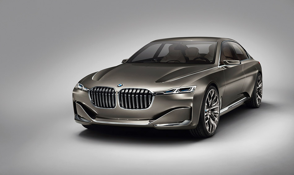 2014 BMW Vision Future Luxury Concept Front Angle