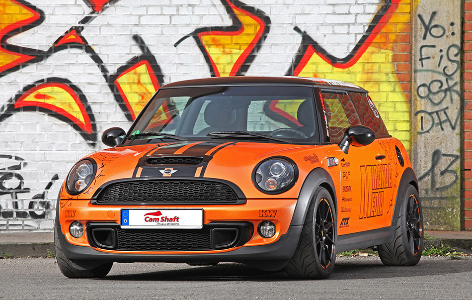 2014 CAM SHAFT Mini Cooper S Front Angle