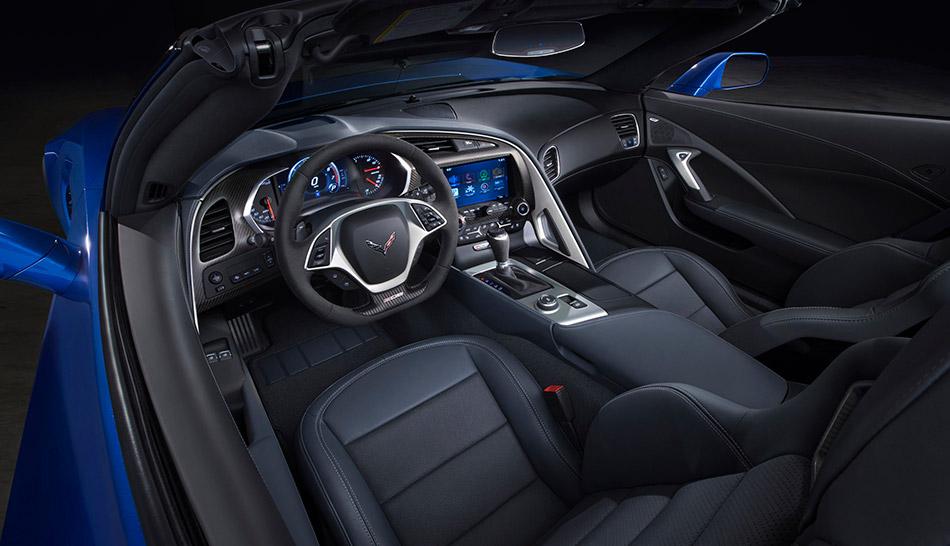 2015 Chevrolet Corvette Z06 Convertible Interior