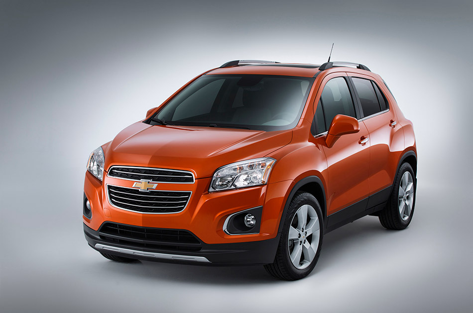 2015 Chevrolet Trax Front Angle