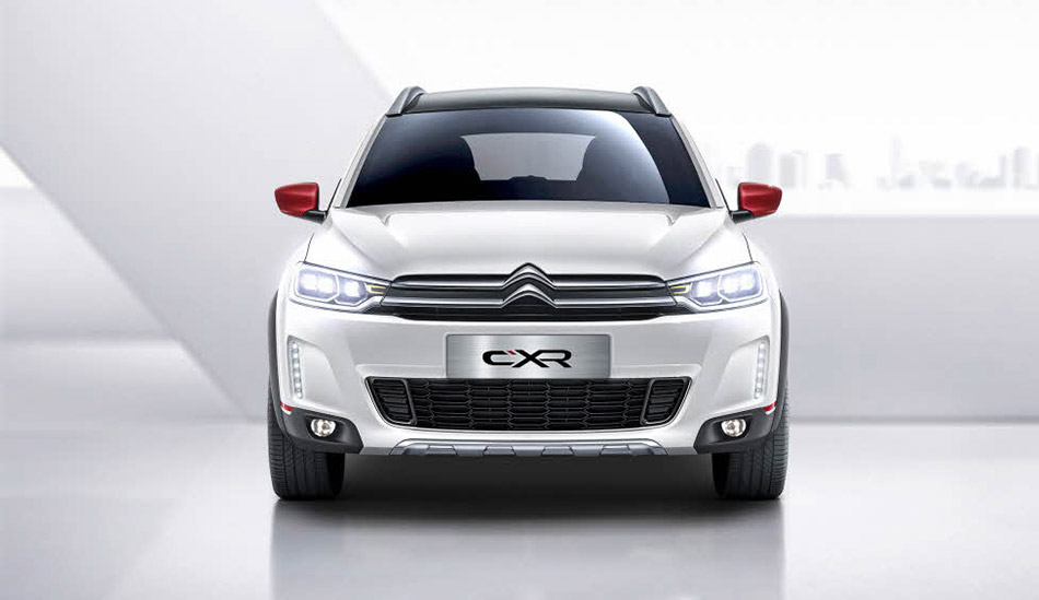 2014 Citroen C-XR Concept Front Angle
