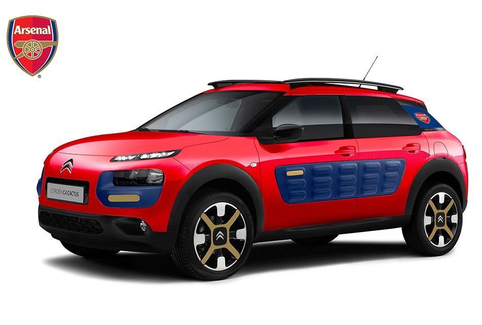 2014 Citroen C4 Cactus Arsenal Edition Front Angle