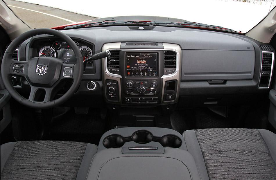 2014 Dodge Ram Power Wagon Interior