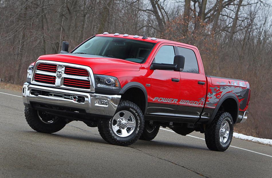 2014 Dodge Ram Power Wagon Front Angle